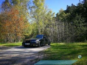 BMW E36 318 dalimis, daužtas