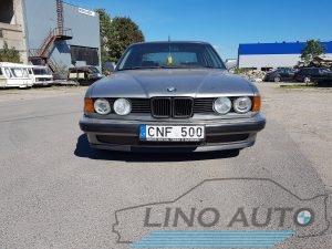 BMW 730i E32 1989m. dalimis