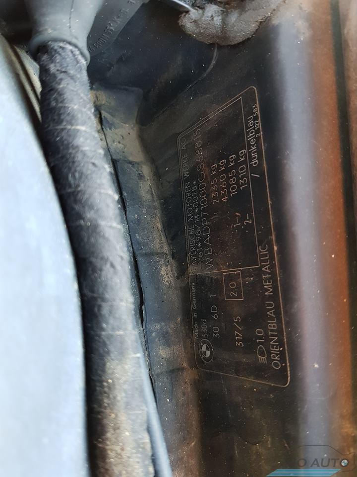 MW 530d 2001m 142kw